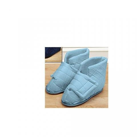 Sherpa slippers w/floor grip for swollen feet